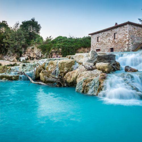 saturnia thermal baths