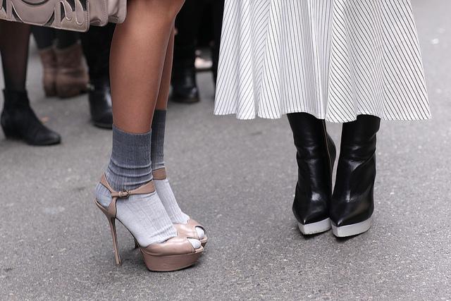 streets of milan during fashion week