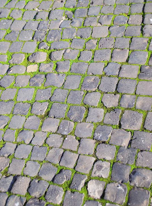 roman cobblestones