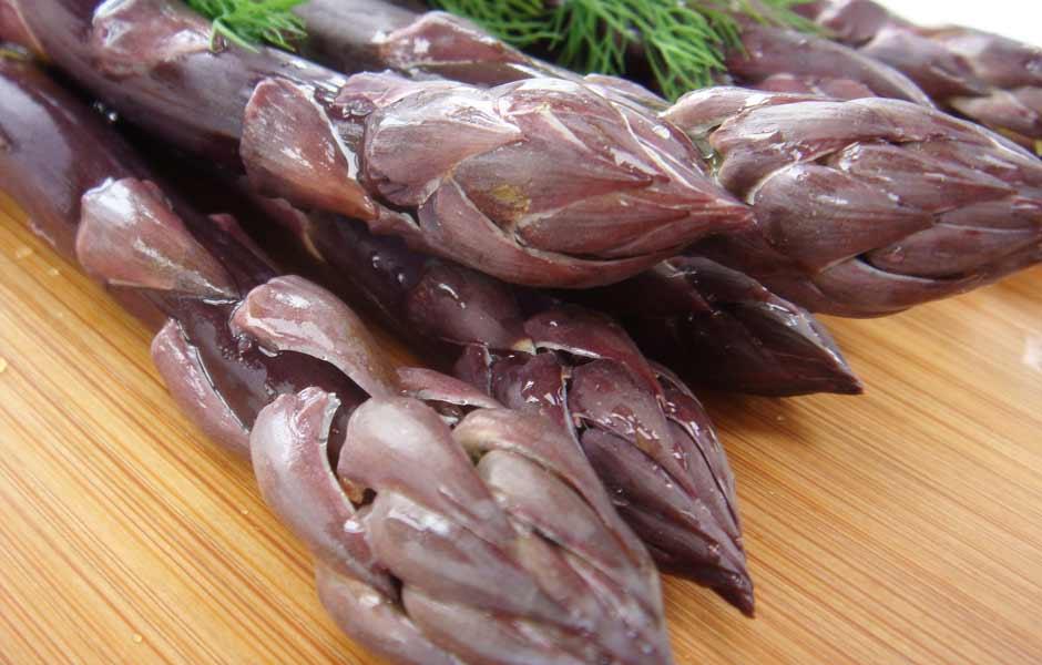 violet asparagus albenga