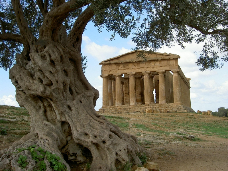 archaeological area of agrigento