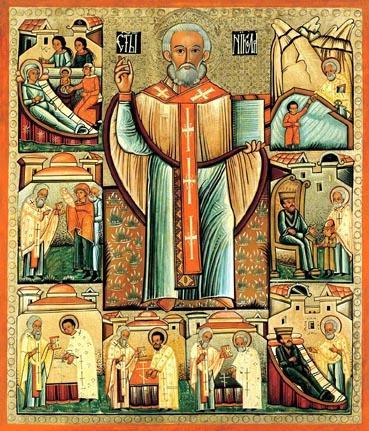 saint nicolò santa claus