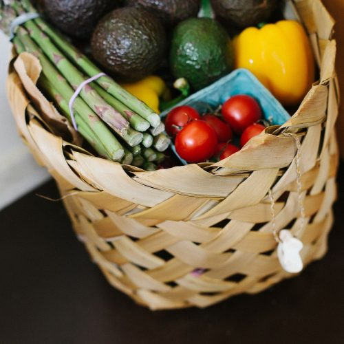 grocery shopping in italian
