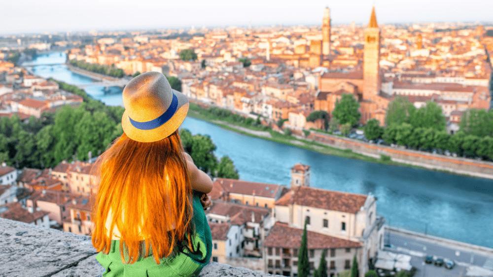 tourist verona Italy
