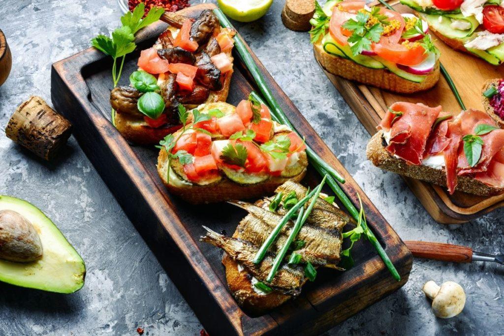 Sardine Bruschetta recipe