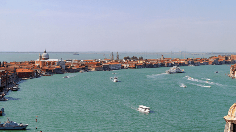 giudecca canal island venice