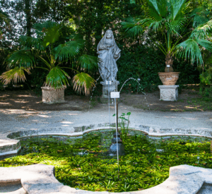Fountain botanical garden