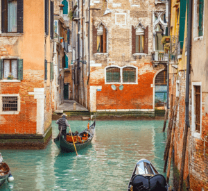 lagoon canal gondola