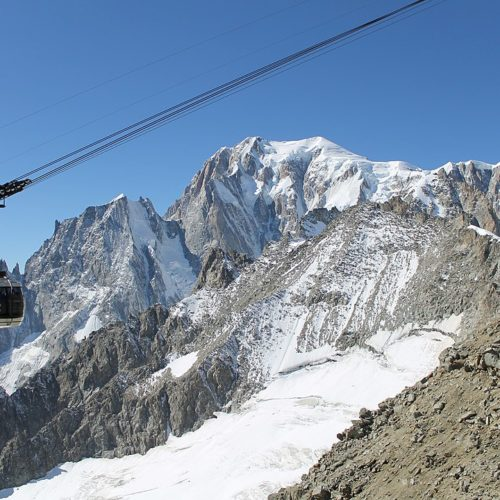 Mont Blanc's Skyway
