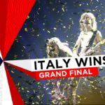 The Italian Maneskin win the Eurovision Song Contest