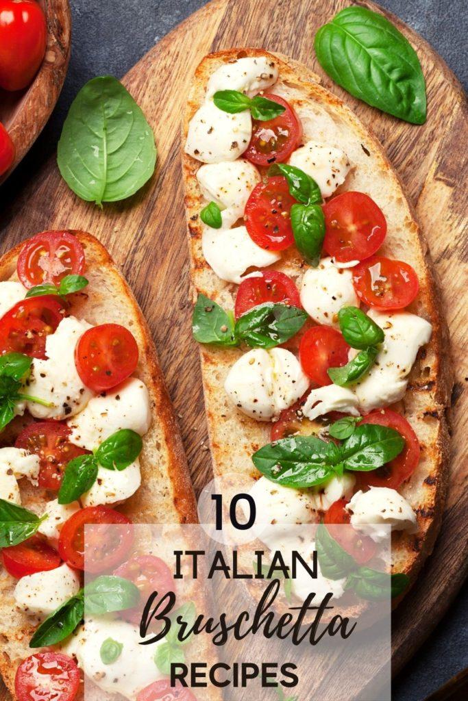 italian bruschetta recipes