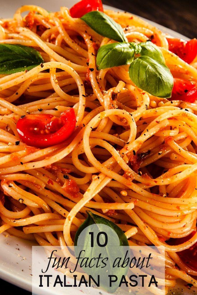 fun fact about pasta