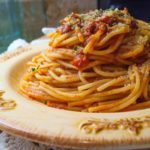 Pasta with Ragù di Salsiccia